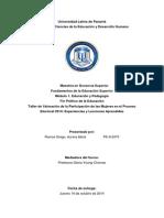 Analisis Del Foro Politico