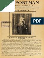 Revista El Sportman N° 1 al 8. Abr. a Jun. 1907. (1907)