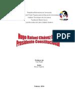 Hugo Rafael Chávez Frías Reseña Como Presidente