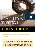 Administracion de Calidad Total