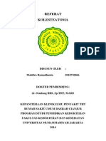 Referat - Kolesteatoma
