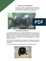 Clasificacion de Compresores