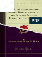 The Races of Afghanistan Being a Brief Account of the Principal Nations (1880)