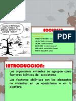 Ecolog ia