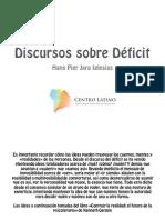 Discursos del Deficit - Terapia breve centrada en soluciones