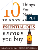 10 Things Essential Oils