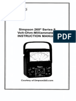 Simpson 260-8 User Manual (2)