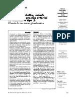Articulo 3 de Control Metabolico en Al Diabetes Mellitus