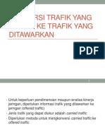 Rekayasa Trafik-10-Konversi Trafik Yang Dimuat Ke Trafik Yang Ditawarkan