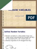 RT 05 Random Variables