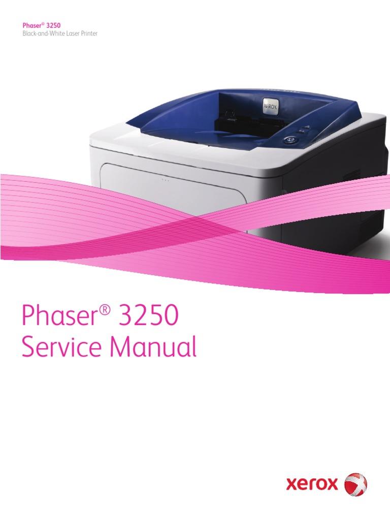 ... Array - phaser 3250 service manual 0106 2010 electrostatic discharge rh  scribd com