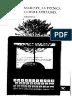 Braunstein - El Inconsciente, La Técnica y El Discurso Capitalista