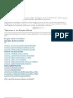Access 2007 Es El Programa Para Bases de Datos Del Paquete de Microsoft Office 2007