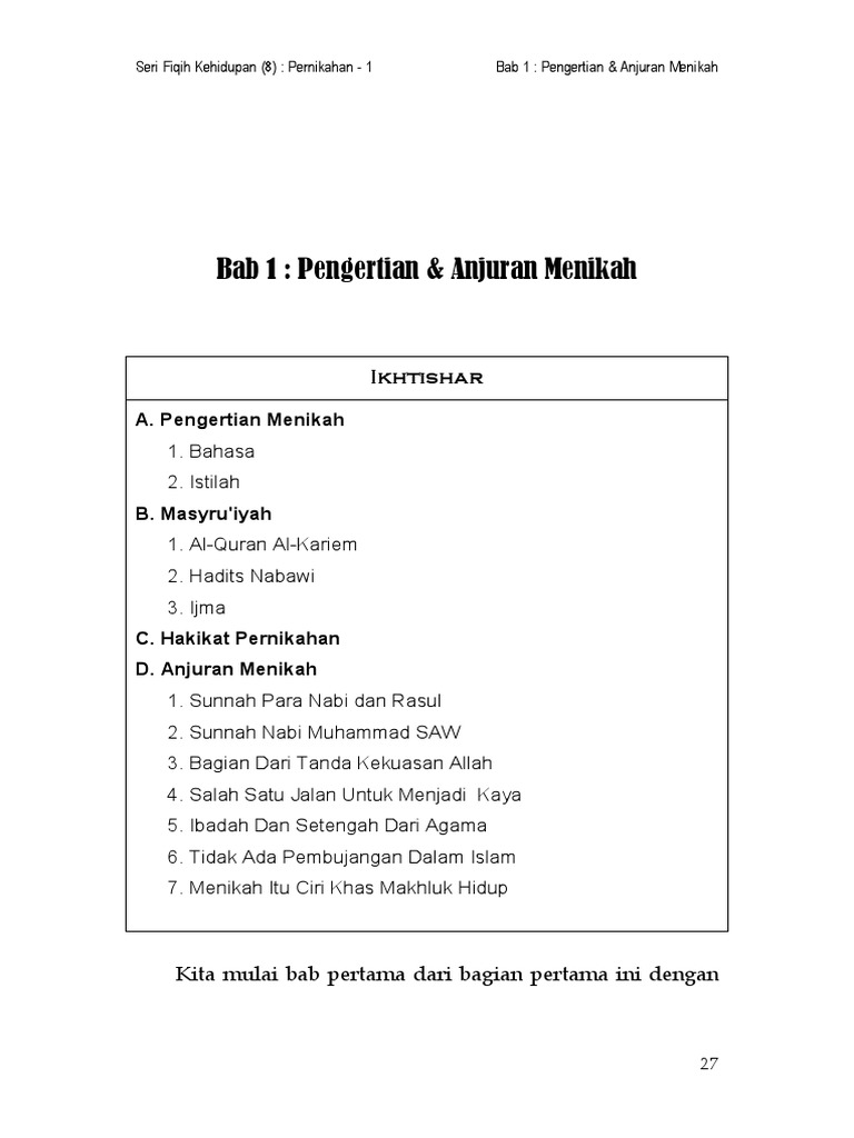 Kitab Nikah Pdf