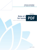 Road-Tunnels TP10 Role of Regulators for Tunnel Projects