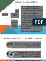 Funciones Didácticas Del Desempeño de Papeles