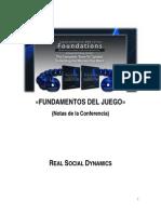 RSD - Fundamentos Del Juego (Guía)