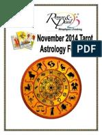 November Astro Forecast 2014