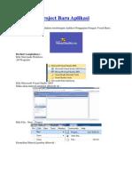 Membuat Project Baru Aplikasi Penggajian Meggunakan Vb.net 2005