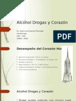 Alcohol Drogas y Corazón