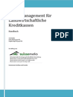 Risikomanagement Agrarkreditstellen - Handbuch