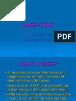 Creep Test