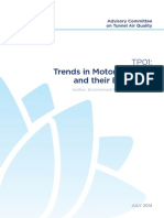 Road-Tunnels TP01 Trends InMotor Vehicles and Their Emissions