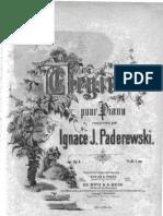 Paderewski Elegie op 04