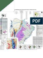 Mapa detalhado dos recursos minerais de Mato Grosso do Sul Prof. Marco Aurelio Gondim [www.marcoaurelio.tk]