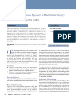 Versatility of the Coronal Approach in Maxillofacial Surgery