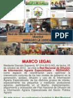 Plan Rediagro La Libertad 2014