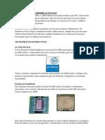 Los Microprocesadores Actuales