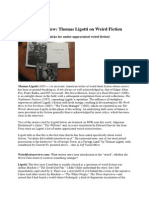 Thomas Ligotti interviewed [2011]+ Jean Ferry tale