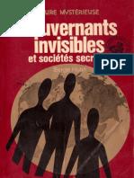 Gouvernants Invisibles Et Sociétés Secrètes