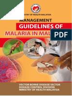 Guidelines Malaria Di Malaysia