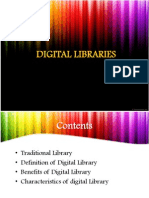 Digital Libraries (Chap 1 & 2)