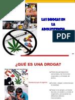 Las Drogas en La Adolescencia