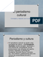El Periodismo Cultural