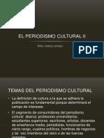 Periodismo Cultural II