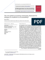 The New Global Accounting Community Rationale for Dialogue to Establish Its Accountability 2009 Critical Perspectives on Accounting