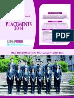 IIHMR Pharmaceutical Placements-2014