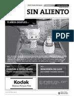 Sin Aliento Nro 1. Diario del BAFICI 2009