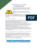 Accidentes eléctricos y su prevención