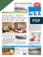 Asbury Park Press Front Page Saturday, Nov. 1