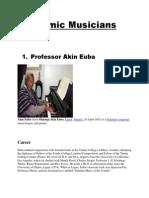 Academic Musicians