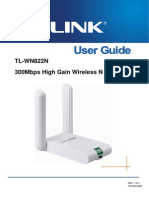 TL-WN822N User Guide