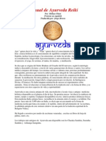 Ayurveda Reiki (Spanish Version)
