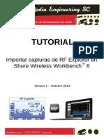 Tutorial RFE WWB6 Spanish