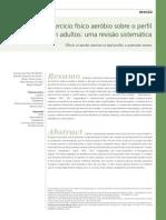 Efeitos Do Exercício Físico Aeróbio Sobre o Perfil Lipídico Em Adultos - Uma Revisão Sistemática