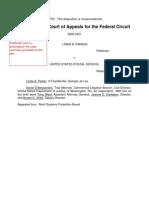 Parker v United States Postal Service, C.A.F.C. No. 2009-3251